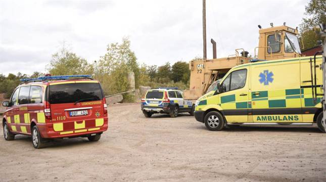 Explosion på arbetsplats – en man död