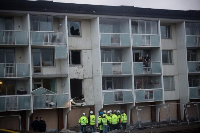"""Sprängolyckan i Grimsta: """"Tackar högre makter"""""""